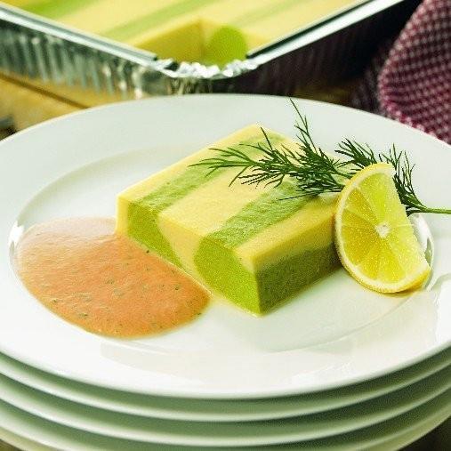 Grundrecept grönsakstimbal med omelett- och timbalbas